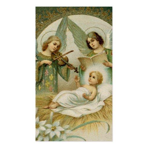 Tarjeta santa (espacio en blanco/personalizado): plantilla de tarjeta de visita