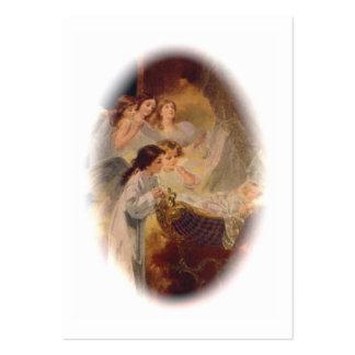 Tarjeta santa (espacio en blanco/personalizado): tarjetas de visita grandes