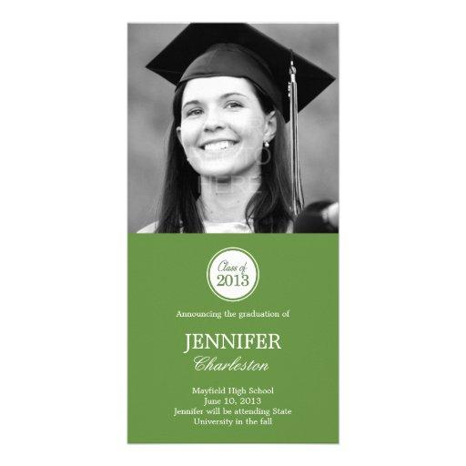 Tarjeta simple de la foto de la invitación de la g tarjeta personal