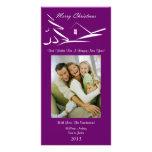 Tarjeta simple de la foto de Navidad del Belleza-P Tarjetas Fotograficas Personalizadas