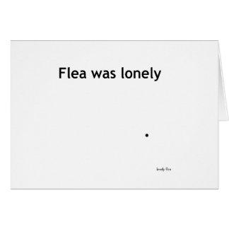 Tarjeta sola de la pulga