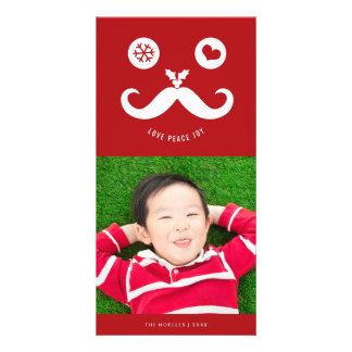 Tarjeta sonriente linda de la foto del día de tarjeta fotográfica personalizada