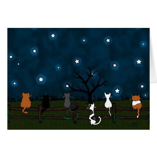 "Tarjeta ""Stargazing"""
