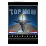 Tarjeta superior de América de la mamá