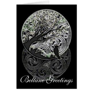 Tarjeta temática céltica/pagana adaptable