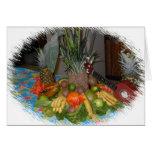 Tarjeta tropical de la invitación del fiesta