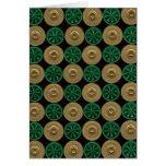 tarjeta verde de las cáscaras de escopeta