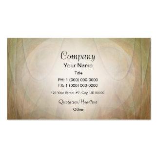 Tarjeta verde y del moreno abstracta del resplando tarjetas de negocios