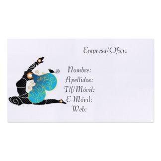 Tarjeta Visita Yoga Plantillas De Tarjetas De Visita