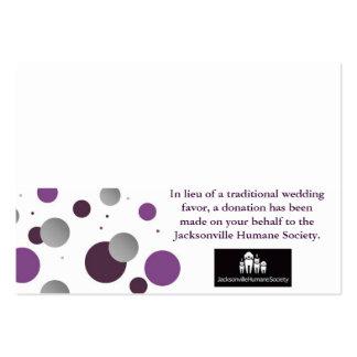 Tarjeta y cubierto del favor de la caridad del bod plantillas de tarjeta de negocio
