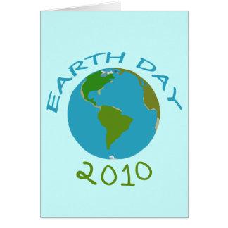 Tarjetas 2010 de felicitación del Día de la Tierra