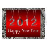 Tarjetas 2012 de felicitación de la Feliz Año Nuev