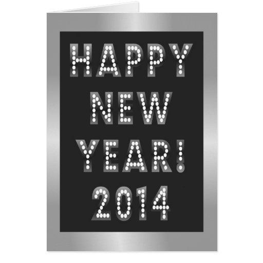 Tarjetas 2014 de felicitación de la Feliz Año