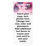 Tarjetas adaptables del estante - manchas de la ba tarjeta publicitaria