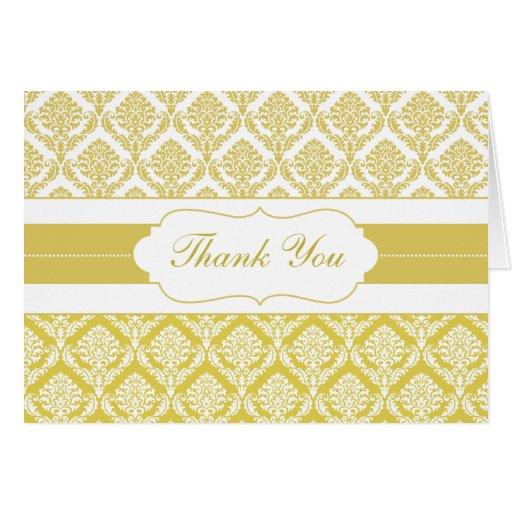 tarjetas amarillas del damasco gracias