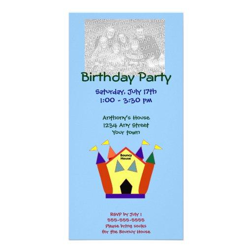 Tarjetas animosas de la foto de la fiesta de cumpl tarjetas con fotos personalizadas