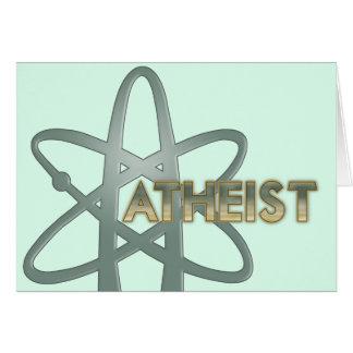 Tarjetas ateas (del símbolo ateo americano oficial