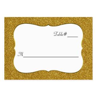 Tarjetas atractivas del lugar del boda de la tarjetas de visita grandes