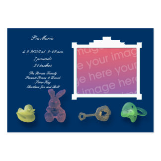 Tarjetas azul marino de la invitación tarjeta de visita