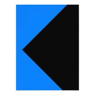 Tarjetas azules de las invitaciones de la invitación 13,9 x 19,0 cm
