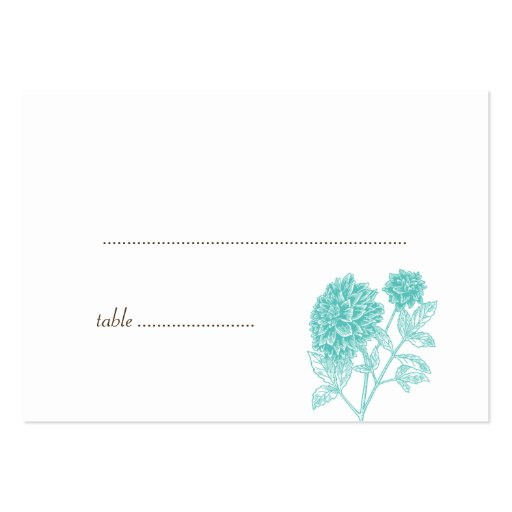 Tarjetas azules del lugar del asiento del acompaña plantillas de tarjetas de visita