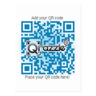 Tarjetas básicas del código de QR Postal
