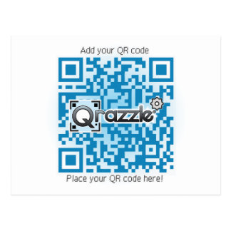 Tarjetas básicas del código de QR Postales