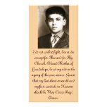 Tarjetas bendecidas del rezo de Jose Sánchez Plantilla Para Tarjeta De Foto