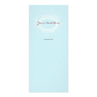 Tarjetas blancas del estante de la jerarquía plantillas de lonas