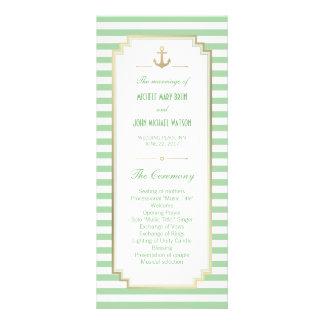 Tarjetas blancas del estante del programa de la tarjetas publicitarias a todo color