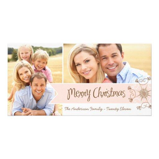 Tarjetas caprichosas de la foto del día de fiesta tarjetas personales