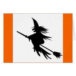 Tarjetas clásicas de Halloween de la sombra de la