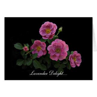 Tarjetas color de rosa de Stan el Roseman