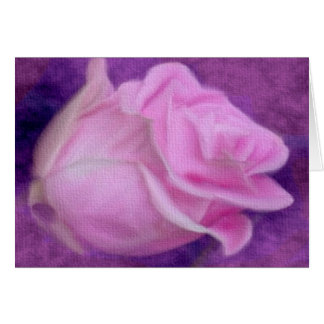 Tarjetas color de rosa rosadas
