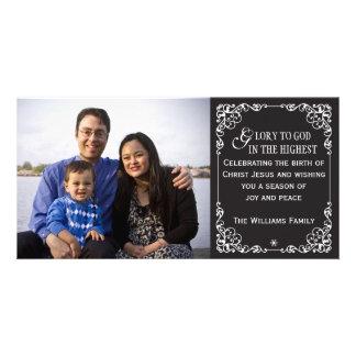 Tarjetas cristianas de la foto del navidad de la p tarjetas personales