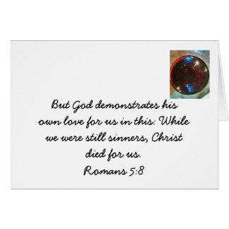 Tarjetas cristianas del estímulo
