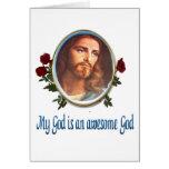 Tarjetas cristianas tarjeta de felicitación