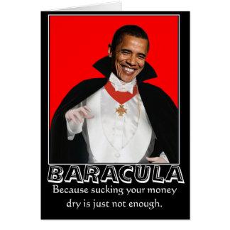 Tarjetas de Baracula Halloween