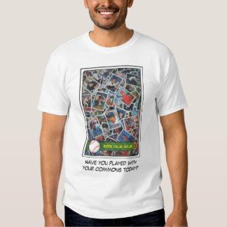 Tarjetas de béisbol comunes #12 camisas