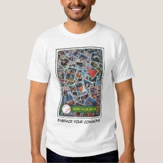 Tarjetas de béisbol comunes #16 camisas