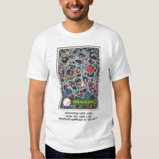 Tarjetas de béisbol comunes #9 camisas