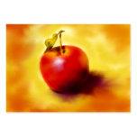Tarjetas de comercio del arte de Apple ACEO Plantillas De Tarjeta De Negocio