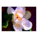 Tarjetas de comercio del arte de la magnolia ACEO  Tarjeta De Visita