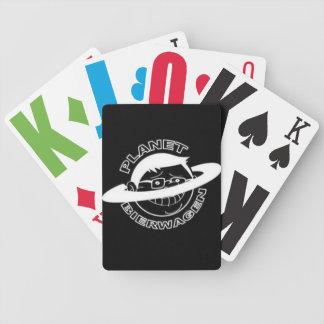 Tarjetas de comercio del LOGOTIPO del PLANETA BIER Baraja Cartas De Poker