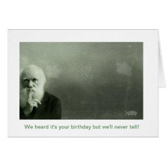 Tarjetas de cumpleaños de Darwin