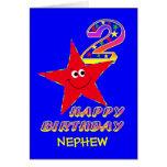 Tarjetas de cumpleaños de la estrella sonriente ro