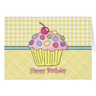 Tarjetas de cumpleaños de la magdalena - personali