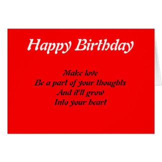 Tarjetas de cumpleaños de las citas de Rafael Stap