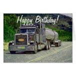 Tarjetas de cumpleaños divertidas del camionero de