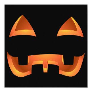 """Tarjetas de encargo de Halloween de las Invitación 5.25"""" X 5.25"""""""
